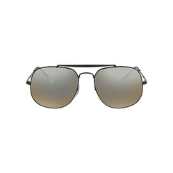 Kính Mát Rayban Silver Gradient Flash Square Men's Sunglasses RB3561 002/9U 57