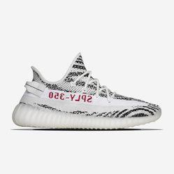 Giày Thể Thao Adidas Yeezy Boost 350 V2 Zebra Màu Trắng Phối Đen