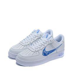 Giày Thể Thao Nike Air Force 1 LV8 Utility Sketch Blue Màu Trắng
