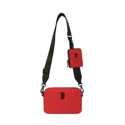 Túi Đeo Chéo MLB Mini Ripstop Nylon Boston Red Sox 32BGDJ111-43R Màu Đỏ
