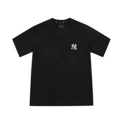 Áo Phông MLB Common Back Big Short Sleeve T-shirt 31TS03131-50L Màu Đen