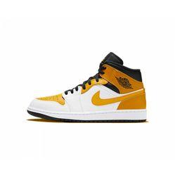 Giày Thể Thao Nike Jordan 1 Mid University Gold Màu Vàng