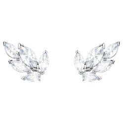 Khuyên Tai Swarovski Louison Stud Pierced Earrings White Rhodium Plated