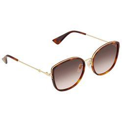 Kính Mát Gucci Havana Cat-Eye Ladies Sunglasses GG0606SK-003 56