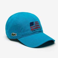 Mũ Lacoste Sport Miami Open Edition Màu Xanh Blue