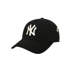 Mũ MLB Cash Cow Unisex Curved Cap Black New York Yankees 32CPKC111-50L Màu Đen