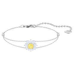 Vòng Đeo Tay Swarovski Sunshine Bracelet White Rhodium Plated