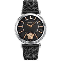 Đồng Hồ Versace V-Helix Quartz Black Watch VQG020015 Cho Nữ