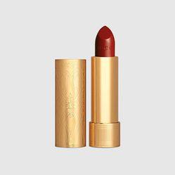 Son Gucci 504 Myra Crimson Màu Đỏ Đậm Satin Lipstick