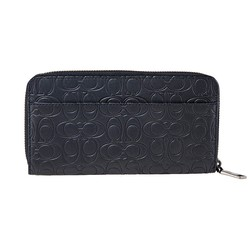 Ví Cầm Tay Coach Midnight Accordion Wallet In Signature Leather Màu Đen