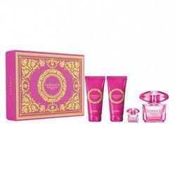 Set Versace Bright Crystal Absolu 4pcs (EDP 90ml, Mini 5ml, Bodylotion 100ml, Showergel 100ml)