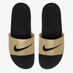 Dép Nike Kawa Slide Gold Màu Vàng Size 40
