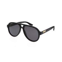 Kính Mát Sunglasses Gucci GG0767S 001 57-15 Black Large Màu Đen