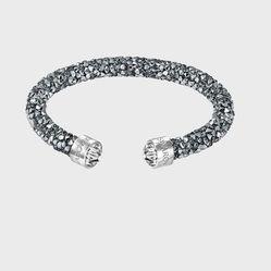 Vòng Đeo Tay Swarovski Crystaldust Bracelet Màu Xám Trắng