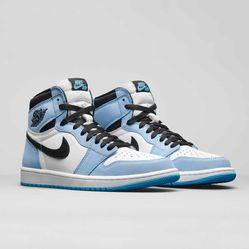 Giày Thể Thao Nike Air Jordan 1 High OG UNC University Blue 555088-134 575441-134 Màu Xanh Trắng