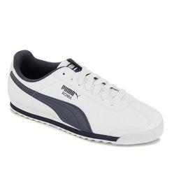 Giày Thể Thao Puma Roma Basic Màu Trắng-Navy Size 41