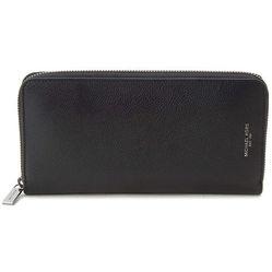 Ví Cầm Tay Michael Kors Bryant Men's Zip Around wallet -Black Tech Màu Đen