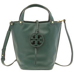 Túi Đeo Chéo Tory Burch Miller Bucket bag - Malachite  Màu Xanh Lá Cây