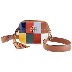 Túi Đeo Chéo Tory Burch Mcgraw Patchwork Camera Bag