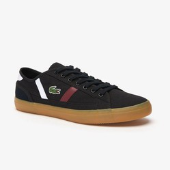 Giày Thể Thao Lacoste Sideline 319 Màu Đen Size 39.5