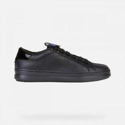 Giày Sneakers Nữ Geox D Pontoise E - Nappa Màu Đen Size 35