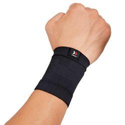 Băng Bảo Vệ Cổ Tay Zamst Bodymate Wrist Màu Đen Size L
