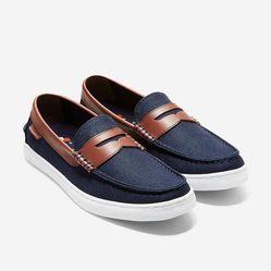 Giày Lười Cole Haan Nantuket Loafer II Màu Xanh Navy Size 40