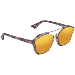 Kính Mát Dior Abstract Orange Geometric Ladies Sunglasses