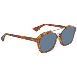 Kính Mát Dior Abstract Blue Browline Ladies Sunglasses DIORABSTRACT YHA/A9 58