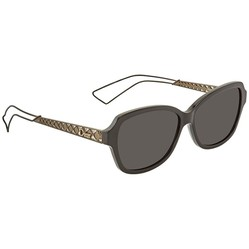 Kính Mát Dior Diorama Dark Grey Rectangular Ladies Sunglasses DIORAMA5 TGX 56