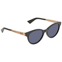 Kính Mát Dior Diorama Blue Avio Cat Eye Ladies Sunglasses DIORAMA7 626S/KU 52