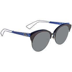 Kính Mát Dior Ama Club Gray Oval Men's Sunglasses