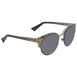 Kính Mát Dior Diorama Mini Gray Blue Cat Eye Ladies Sunglasses DIORAMAMINI 0807 54