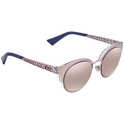 Kính Mát Dior Diorama Mini Gray Rose Gold Cat Eye Ladies Sunglasses DIORAMAMINI S8R/0J
