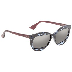 Kính Mát Dior Diormania Grey Mirror Geometric Ladies Sunglasses DIORMANIA2 889/UE 57