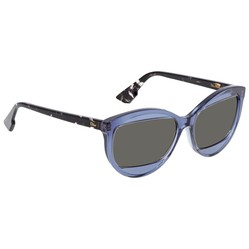Kính Mát Dior Diormania Grey Geometric Ladies Sunglasses DIORMANIA2 HK3/IR 57