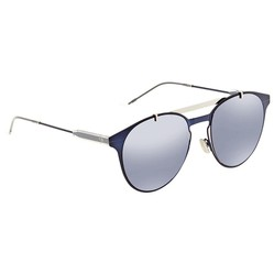 Kính Mát Dior Motion Blue Sky Mirror Browline Men's Sunglasses DIORMOTION1 PJP/XT 53