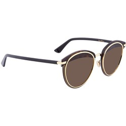 Kính Mát Dior Offset Brown Oval Ladies Sunglasses