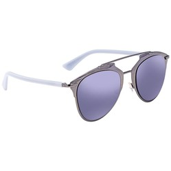 Kính Mát Dior Reflected Blue Mirror Aviator Ladies Sunglasses DIORREFLECTED TUY/XT