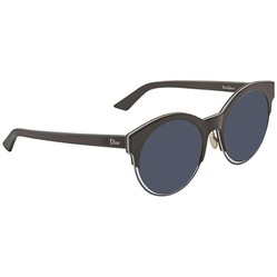 Kính Mát Dior Sideral Blue Avio Cat Eye Ladies Sunglasses DIORSIDERAL1 RLT/KU 53