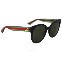 Kính Mát Gucci Green Lenses Round Sunglasses