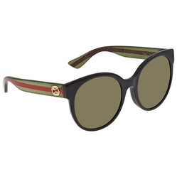 Kính Mát Gucci Urban Green Cat Eye Ladies Sunglasses GG0035SA 002 56