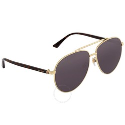 Kính Mát Gucci Blue Aviator Sunglasses GG0043SA 002 61