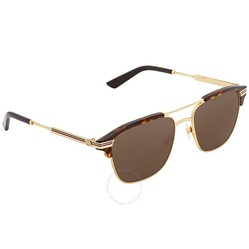Kính Mát Gucci Brown Square Sunglasses GG0241S 003 54