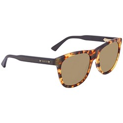 Kính Mát Gucci Brown Rectangular Men's Sunglasses GG0266S 004 55