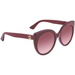 Kính Mát Gucci Red Gradient Cat Eye Ladies Sunglasses