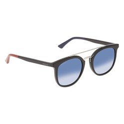 Kính Mát Gucci Blue Shaded Geometric Unisex Sunglasses GG0403S00451