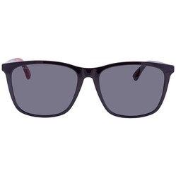 Kính Mát Gucci Dark Grey Polarized Wayfarer Men's Sunglasses GG0404S 008 58