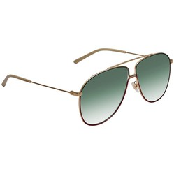 Kính Mát Gucci Green Aviator Men's Sunglasses GG0440S 004 61