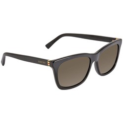 Kính Mát Gucci Brown Rectangular Men's Sunglasses GG0449S00156